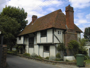 Hall House in Southfleet
