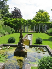 The Italian Garden at Godinton House